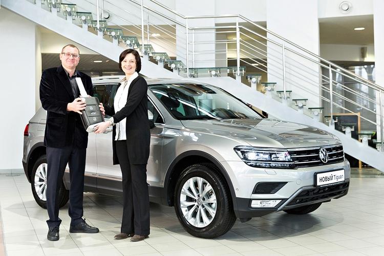 В России стартовали поставки кроссовера Volkswagen Tiguan нового поколения