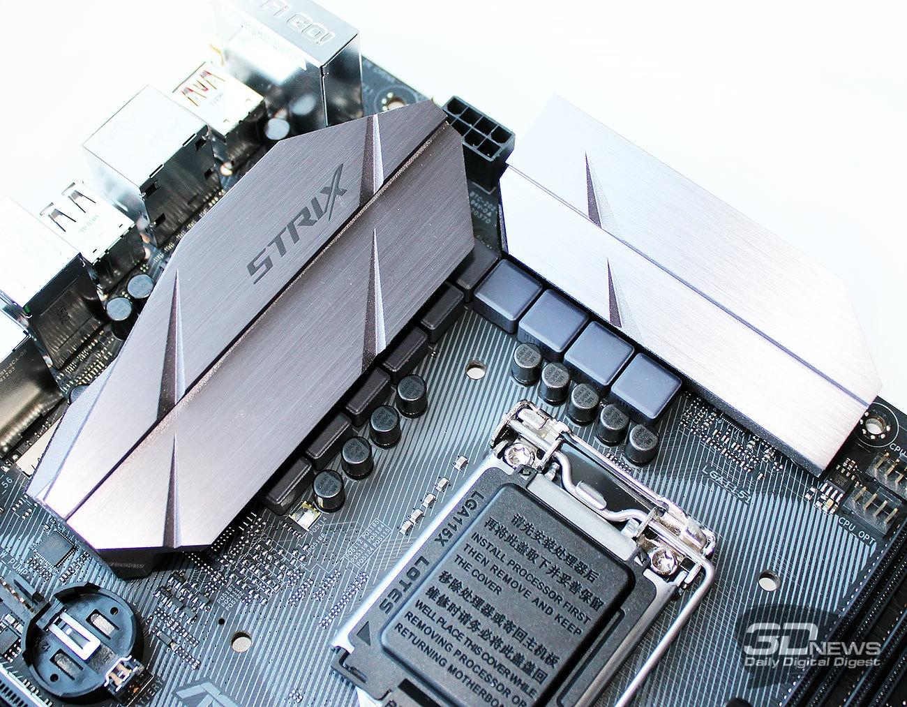 Обзор и тестирование материнской платы ASUS ROG STRIX Z270G Gaming