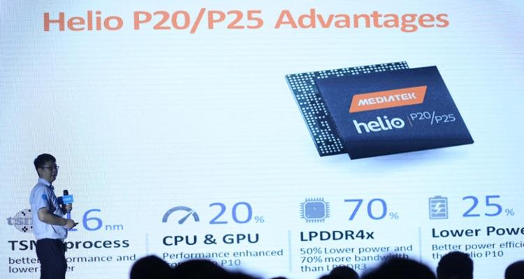 Мобильный процессор MediaTek Helio P25