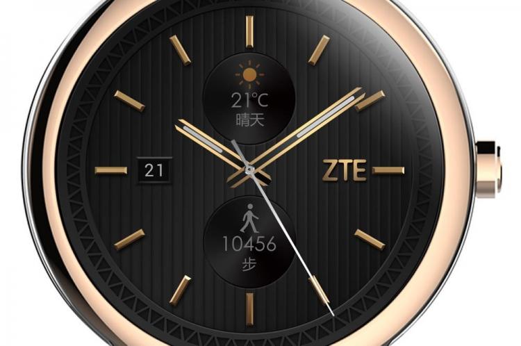 ZTE готовит к релизу свои первые смарт-часы на Android Wear