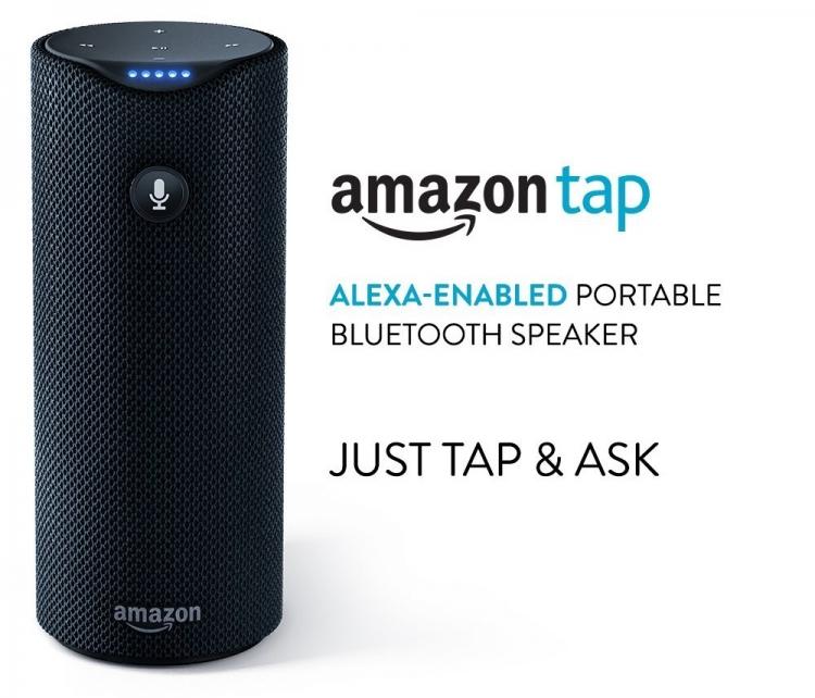 Беспроводная смарт-колонка Amazon Tap