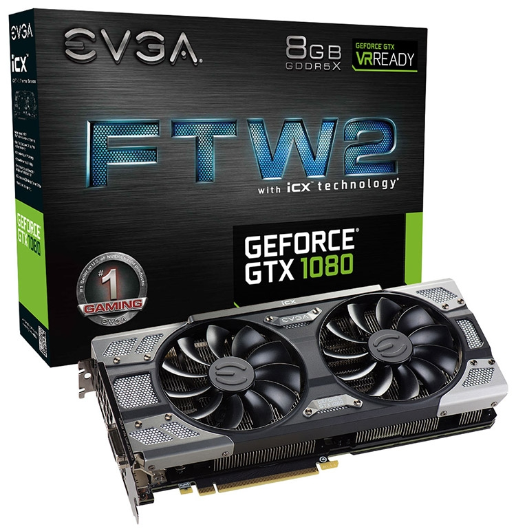 EVGA GeForce GTX 1080 FTW2 Gaming iCX
