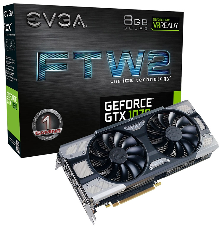 EVGA GeForce GTX 1070 FTW2 Gaming iCX