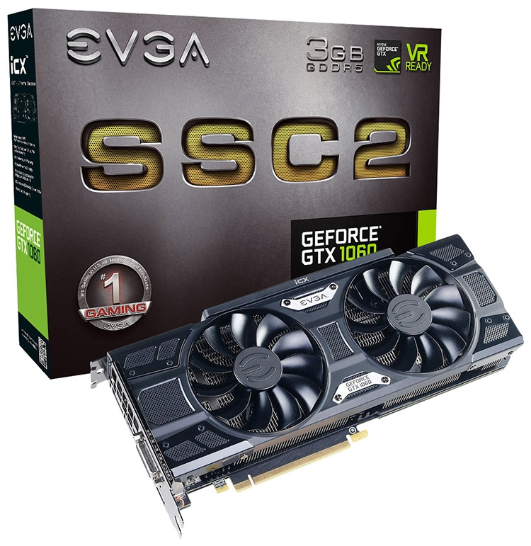EVGA GeForce GTX 1060 SSC2 Gaming iCX