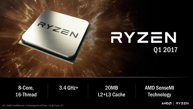 Поддержка Windows 7 в AMD Ryzen отменяется