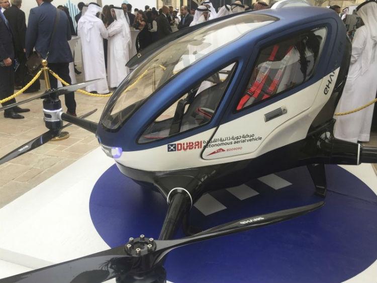 Такси квадрокоптер дубай дом в саудовской аравии