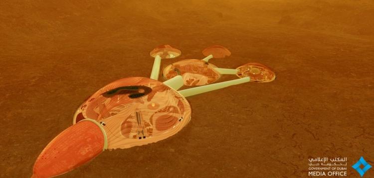 ОАЭ представили проект строительства первого мини-города на Марсе