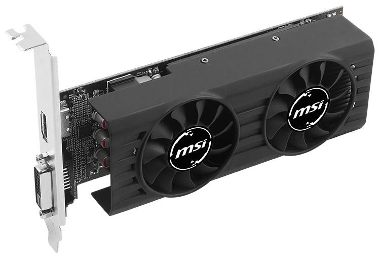 Видеокарта MSI Radeon RX 460 4GT LP