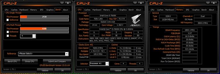 Core i5-7600K тест
