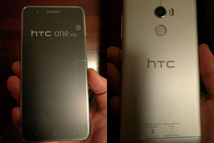 Смартфон HTC One X10 на платформе Helio P10 замечен на «живых» фотоснимках