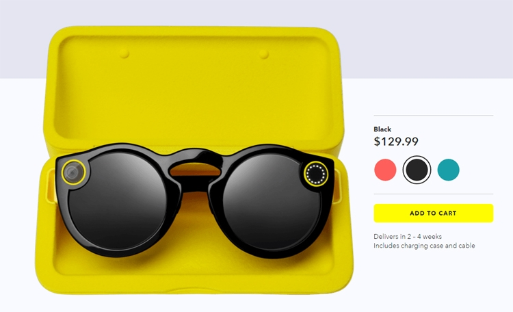Смарт-очки Snap Spectacles