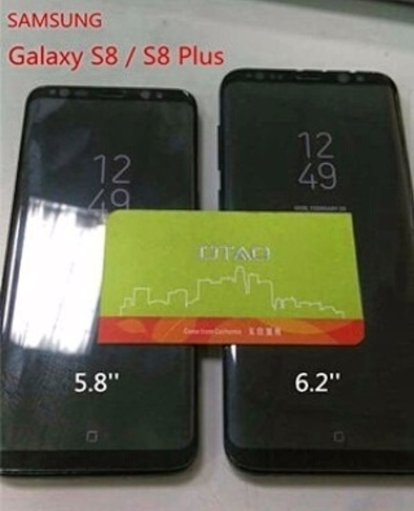 Samsung Galaxy S8: новые «живые» фото показали виртуальную кнопку «Домой»