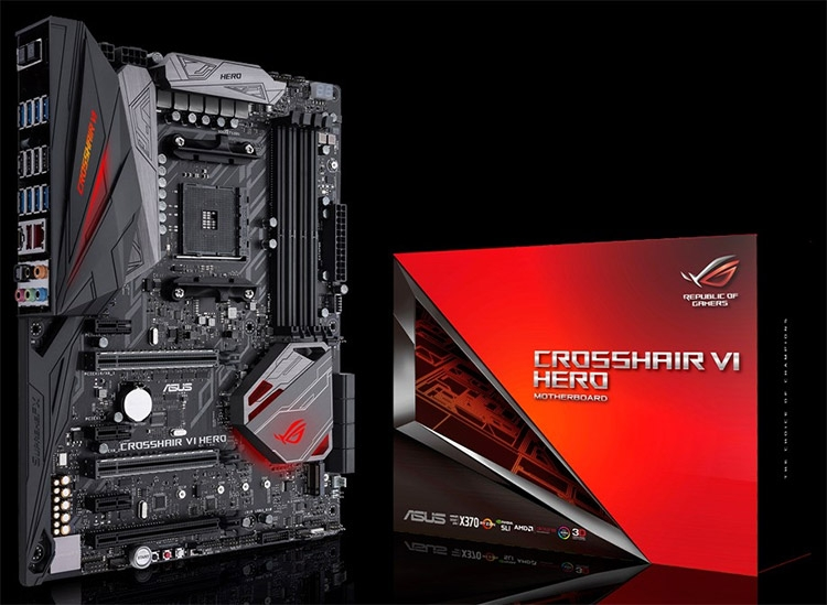 ASUS представила плату ROG Crosshair VI Hero для процессоров Ryzen