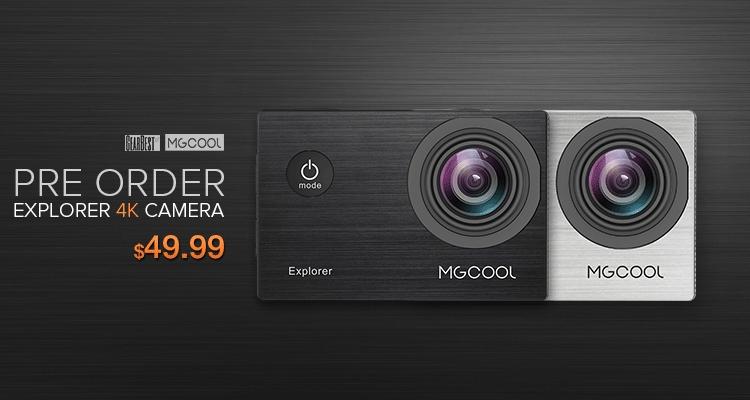 Экшен-камера MGCOOL Explorer с поддержкой 4K-видео оценена в $50