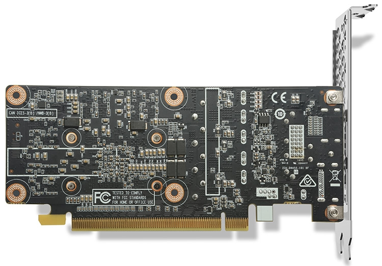 Видеокарта ZOTAC GeForce GTX 1050 Low Profile (ZT-P10500E-10L)