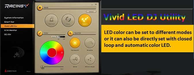 Biostar Vivid LED DJ