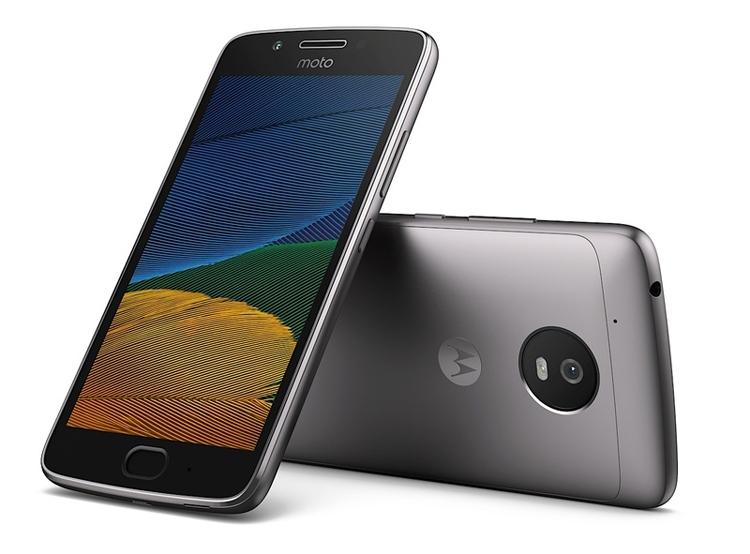 Смартфоны Lenovo Moto G5 и G5 Plus