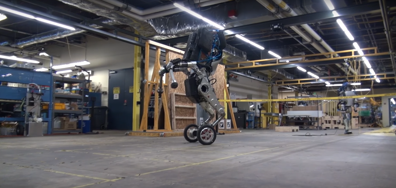 Boston Dynamics официально представила робота на колёсах Handle