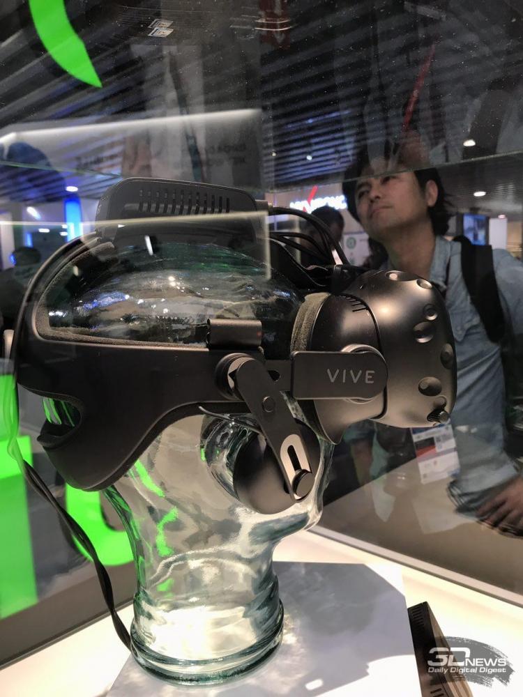 MWC 2017: два новых фирменных аксессуара для VR-шлема HTC Vive