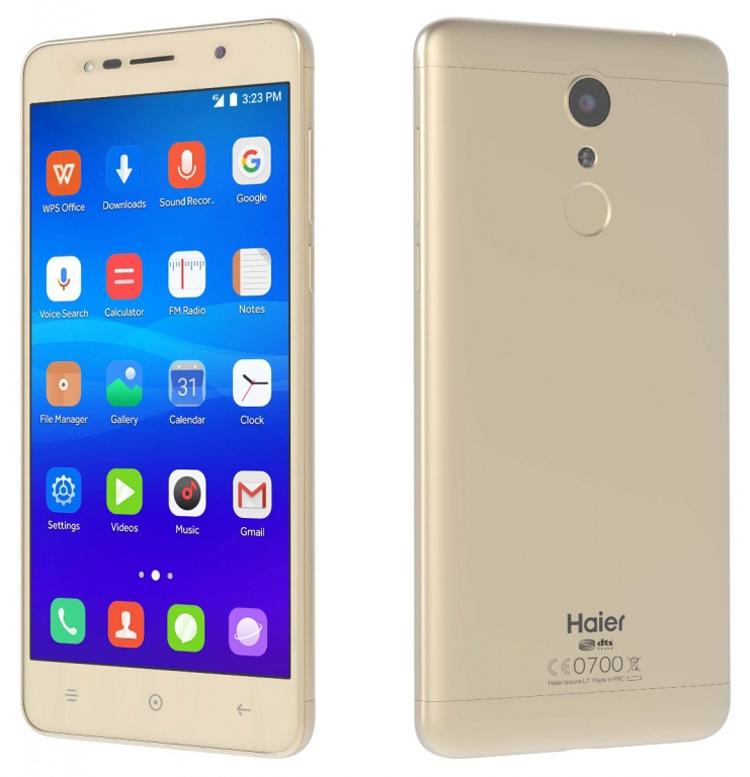 MWC 2017: смартфоны Leisure L7, Ginger G7 и Ginger G7s в экспозиции Haier