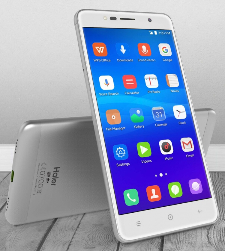 Смартфоны Haier Leisure L7, Ginger G7 и Ginger G7s