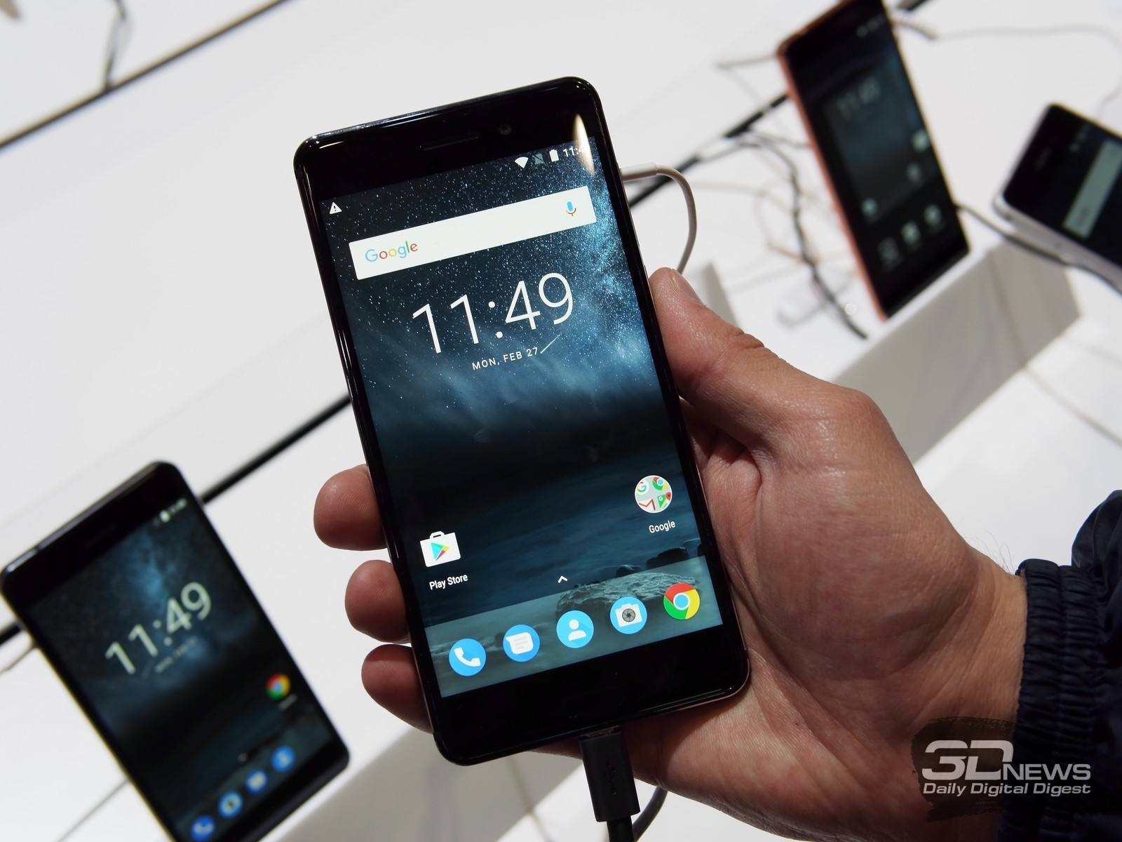 Новая статья: MWC 2017: Что не так с Nokia 3310 и почему это нормально