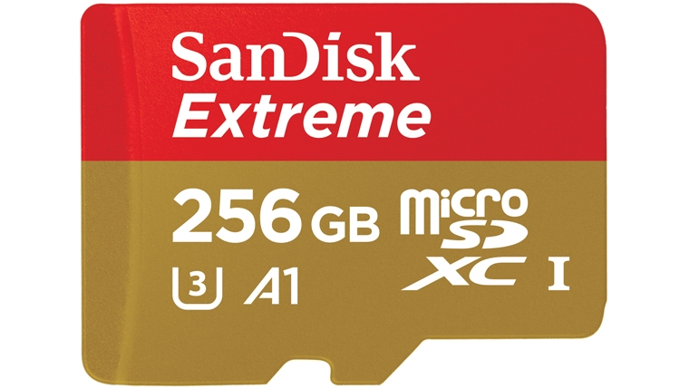 MWC 2017: быстрая microSD-карта SanDisk Extreme ёмкостью 256 Гбайт