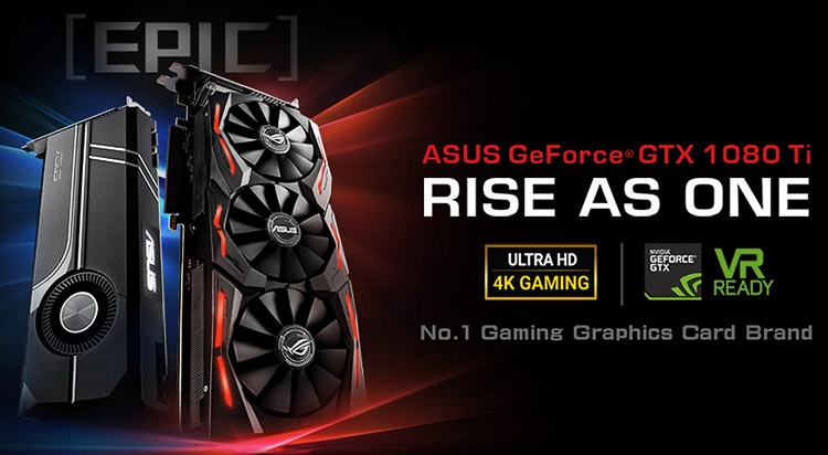 Модели ASUS GeForce GTX 1080 Ti