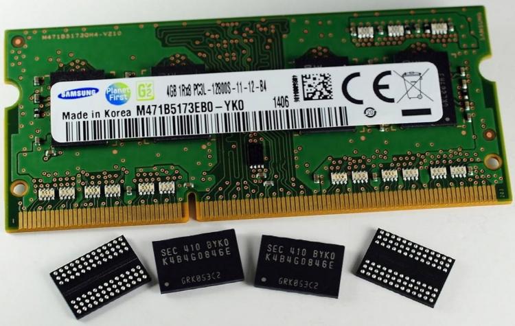 Samsung отзывает PC DRAM