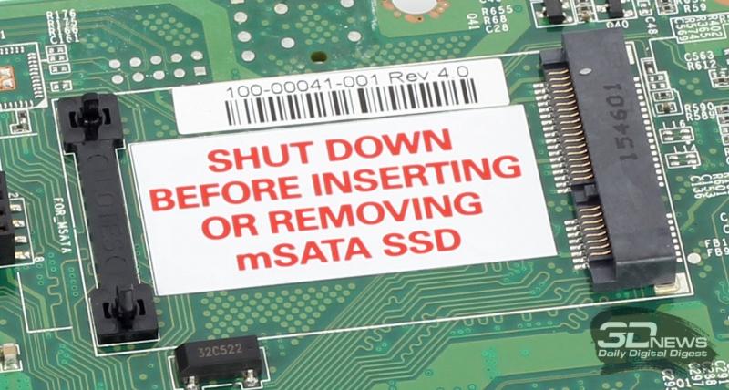 РЎРРѕС' РґРСЏ установки mSATA SSD
