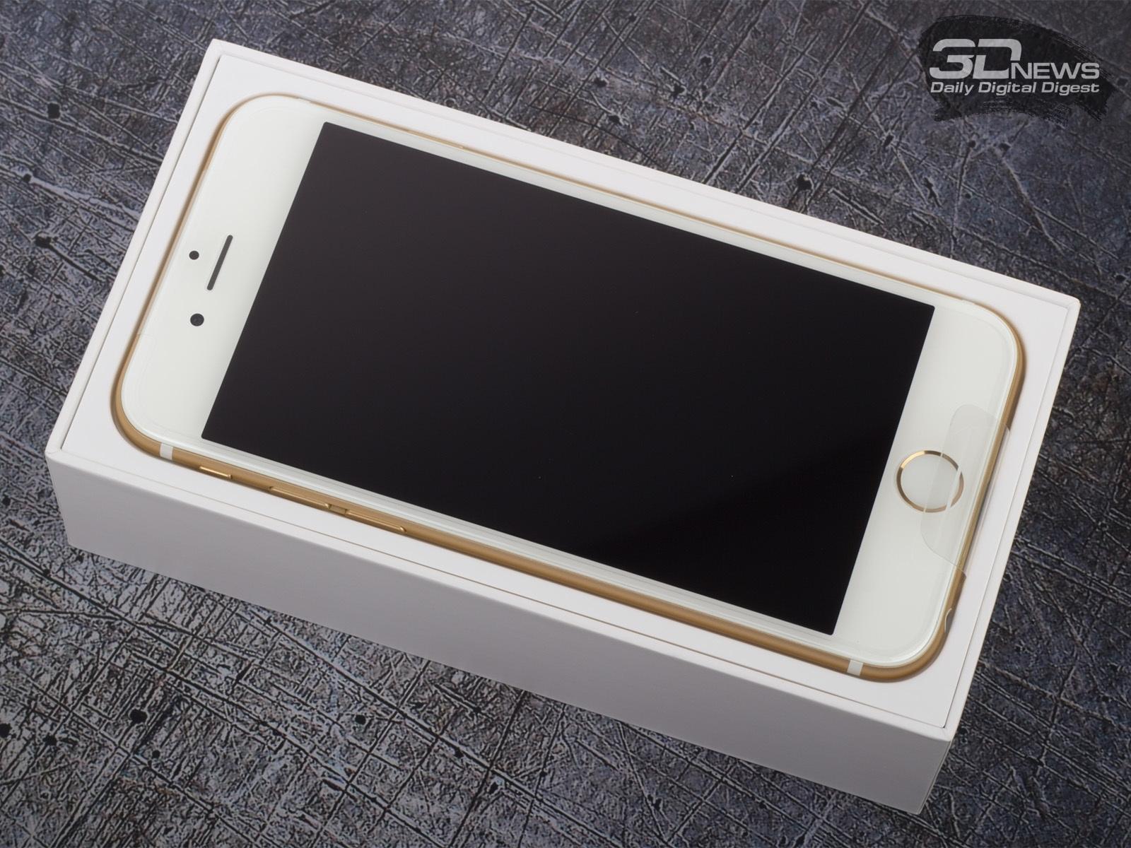 В продаже появился iPhone 6 с 32 Гбайт памяти