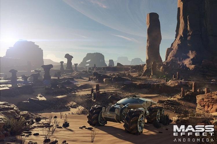 Геймплей Mass Effect: Andromeda: миссия Пиби налояльность