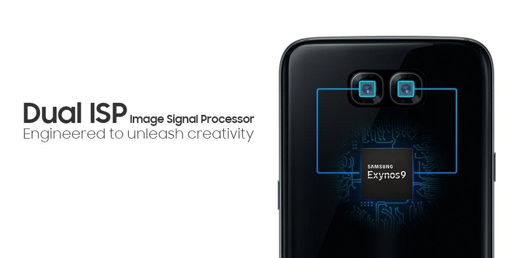 Самсунг рекламирует технологию двойной камеры