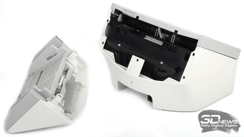 Сканер со сняты лотком подачи
