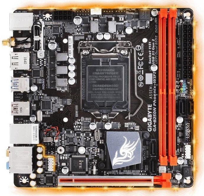 Материнская плата Gigabyte GA-B250N Phoenix-WiFi