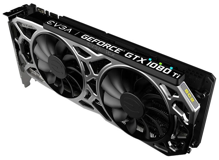Видеокарта EVGA GeForce GTX 1080 Ti SC2