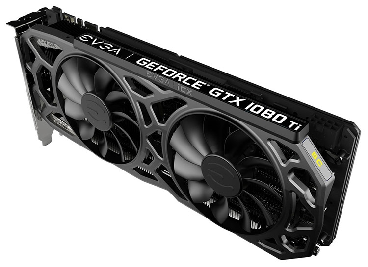 Видеокарта EVGA GeForce GTX 1080 Ti SC Black Edition