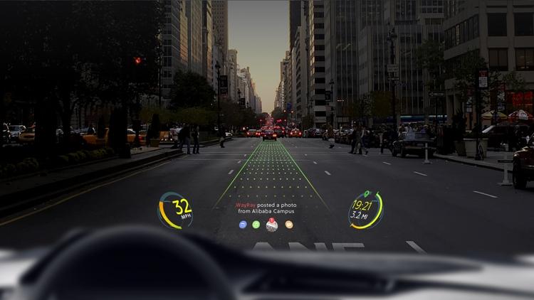 Alibaba поможет в разработке автомобильной навигации дополненной реальности