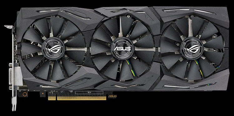Видеокарта ASUS ROG Strix GeForce GTX 1080 Ti OC