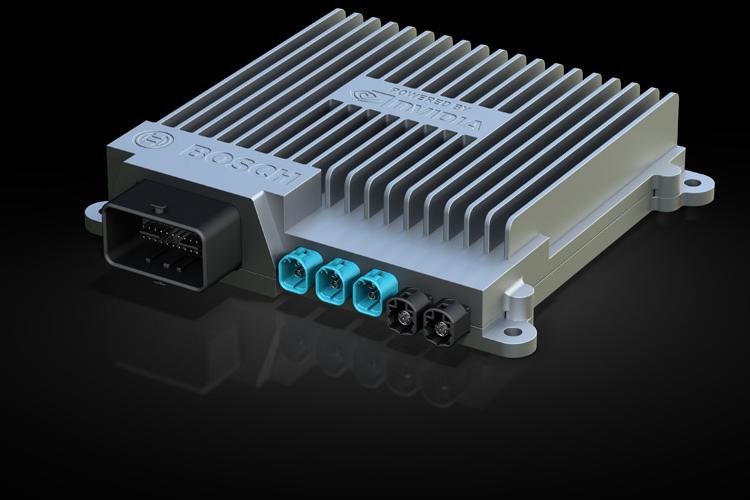 Bosch и NVIDIA разработают системы автопилотирования для массовых автомобилей