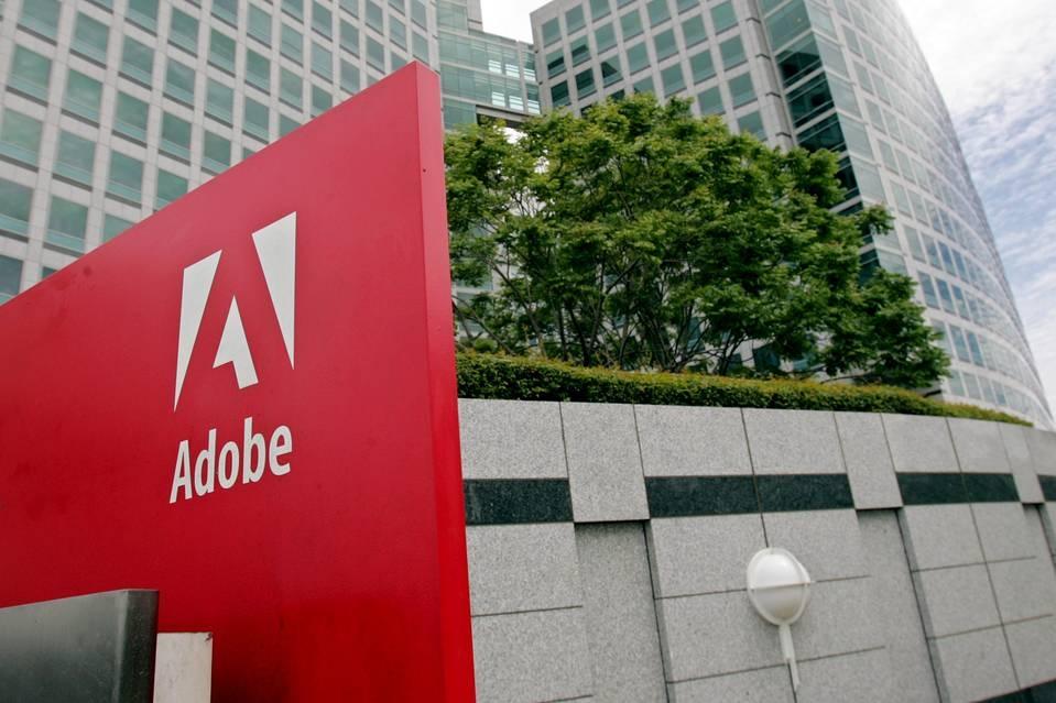 Выручка Adobe растёт уже три года благодаря облачному бизнесу