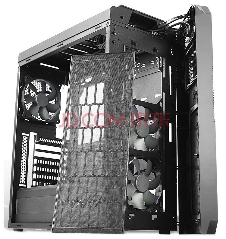 Сетчатые поверхности Antec GX909 накрыты пылевыми фильтрами