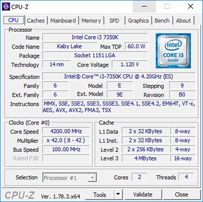 Обзор процессора Core i3-7350K: 5 ГГц, недорого