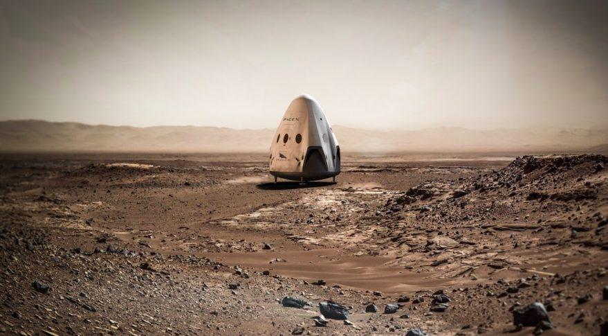 SpaceX и НАСА ищут места для посадки на Марс