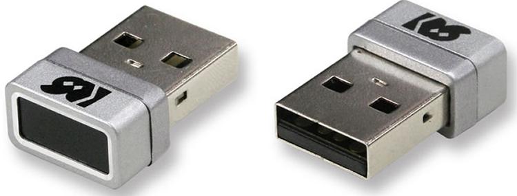 Ratoc Systems предлагает удобный USB-сенсор для считывания отпечатков пальцев