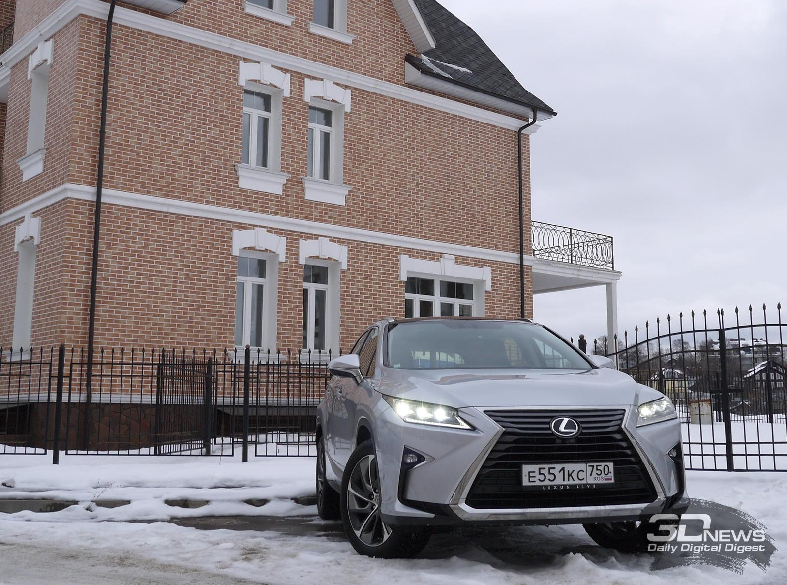 Обзор Lexus RX350: роскошь и предубеждение