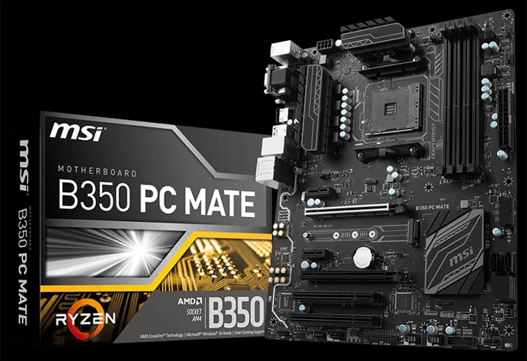 Материнская плата MSI B350 PC Mate