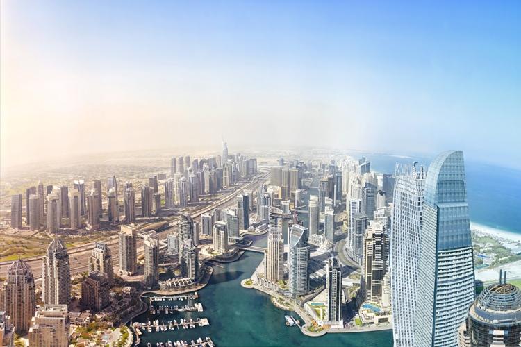 Фото дня: Bentley в сердце Дубая — один из самых детализированных пейзажей в мире