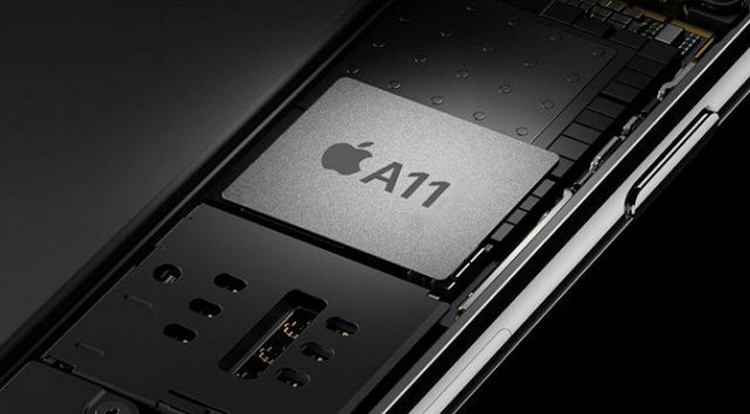 Массовый выпуск процессоров Apple A11 начнётся в апреле