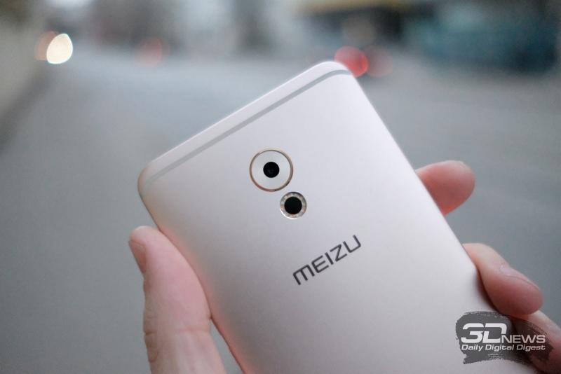 Meizu Pro 6 Plus, модуль основной камеры
